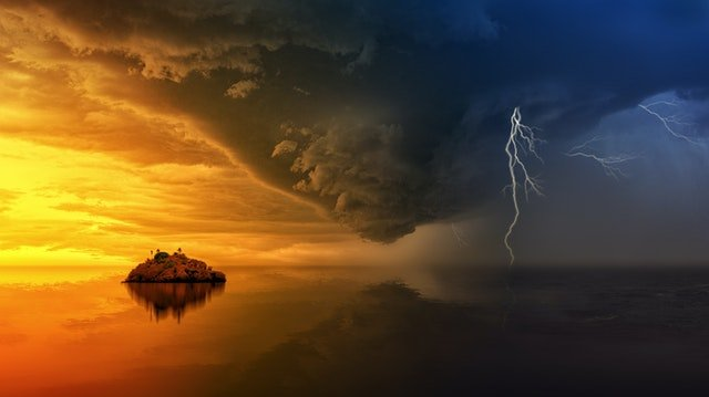 Let us be the Calm in the storm
